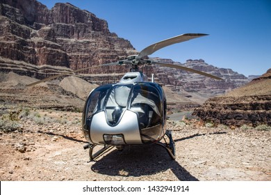 Grand Canyon on Maverick helicopter