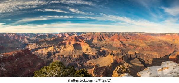 Grand canyon panorama in USA