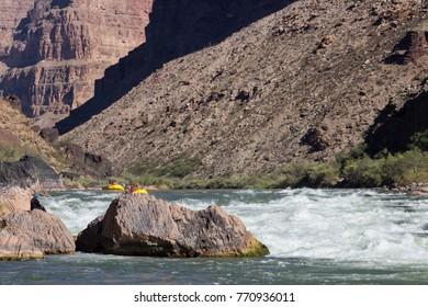 Grand Canyon,  Rafting the Colorado River in Arizona