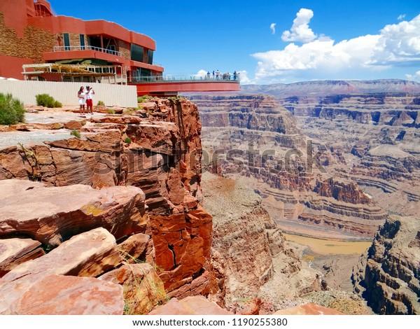 Grand Canyon Skywalk Stock Photo Edit Now 1190255380