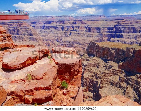 Grand Canyon Skywalk Stock Photo Edit Now 1190259622