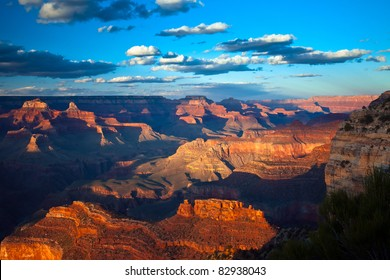 Grand Canyon at Sunset from Hopi Point
