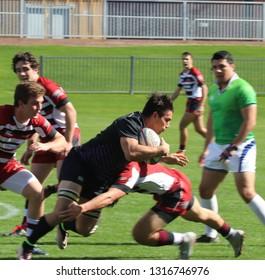 Grand Canyon University Lopes rugby at GCU Stadium in Phoenix, Arizona/USA February 16,2019.