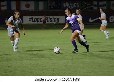 Grand Canyon University Lopes vs the Portland State University Vikings at GCU Stadium in Phoenix Arizona USA September 13,2018.