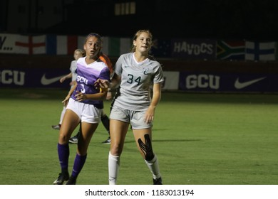 Grand Canyon University Lopes vs Portland State University Vikings at GCU Stadium in Phoenix Arizona USA September 13,2018.