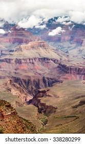 grand canyon upright panorama