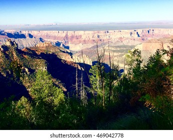 Grand Canyon view from North Rim