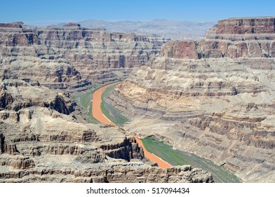 Grand Canyon West and the Colorado River.