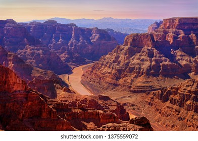 Grand Canyon West Rim with Colorado River