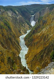 Grand Canyon of the Yelowstone National Park, Yellowstone National Park is UNESCO World Heritage Site, USA