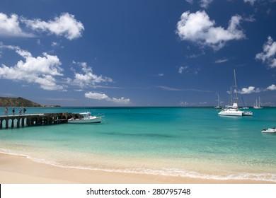 Grand Case Beach, St Martin, Caribbean