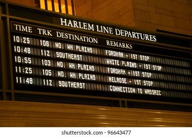 Grand Central Departures