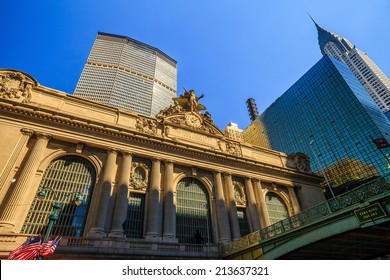The Grand Central Station in New York City, USA