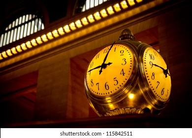 Grand Central Terminal Clock, New York, USA.