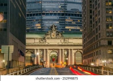 Grand Central Terminal at Night