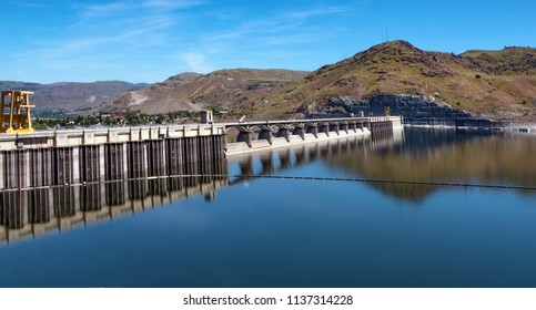 Grand Coulee electrical hydropower dam