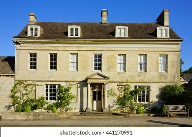 A grand country mansion in the heart of the Cotswolds near to Painswick, The Cotswolds, Gloucestershire, England, UK