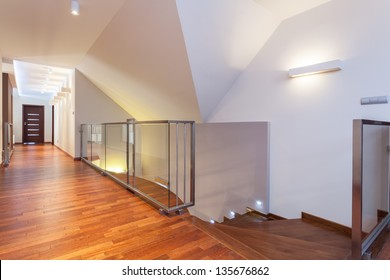 Grand design - second floor of a modern house