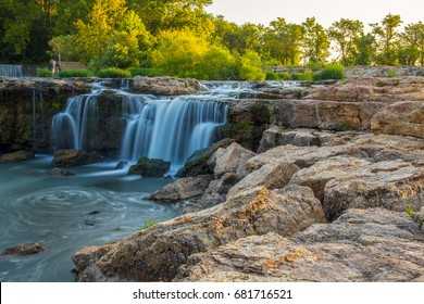 Grand Falls in Joplin, Missouri