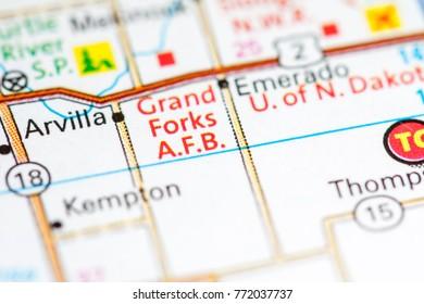 Grand Forks AFB. North Dakota. USA
