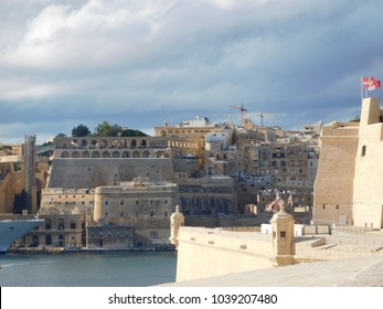 Grand Harbor, Upper Barrakah Gardens, Valletta, Malta