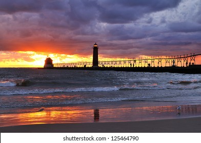 Grand Haven Lighthouse Grand Haven, Michigan