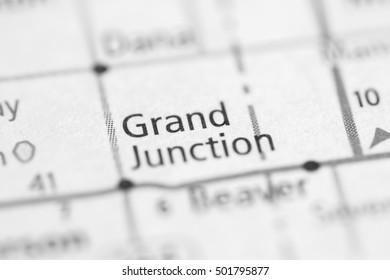 Grand Junction. Iowa. USA.