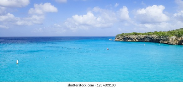 Grand Knip beach Views around the Caribbean isalnd of Curacao
