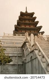 Grand Korean Temple