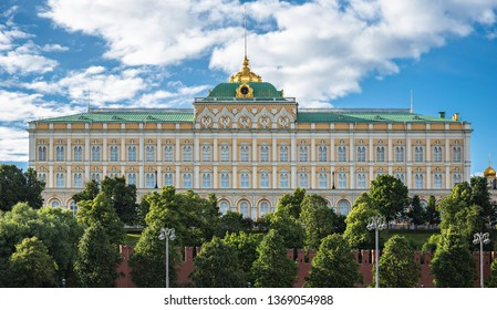 Grand Kremlin Palace, Russian Moscow Kremlin