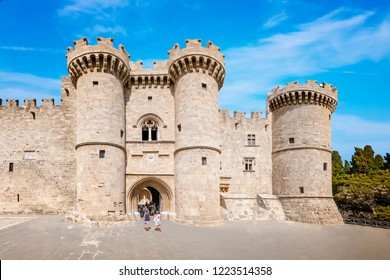 Grand Master Palace in medieval city of Rhodes (Rhodes, Greece)