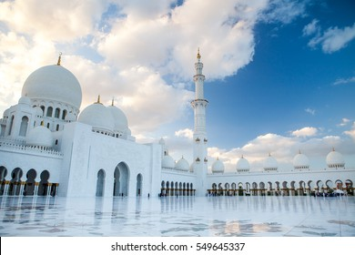 Grand Mosque in Abu Dhabi. Mosque