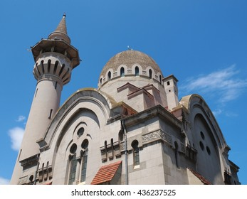 The Grand Mosque in Constanta city, Romania - an religious monument built in 1910 by Carol I king