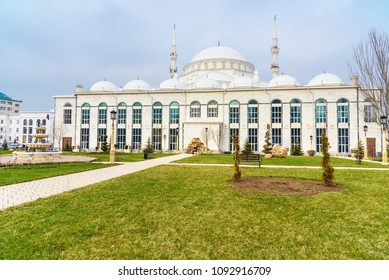 Grand Mosque in Makhachkala, Yusuf Bei Cami is the main mosque of Republic Dagestan. Russia