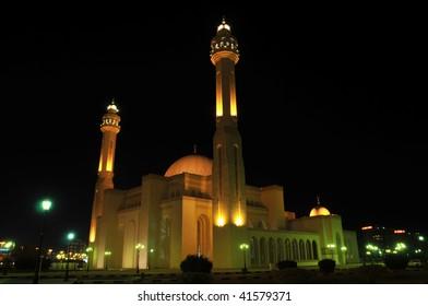 The Grand Mosque in Manama, Bahrain