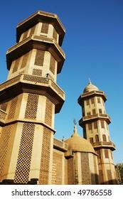 Grand mosque in Ouagadougou in Burkina Faso