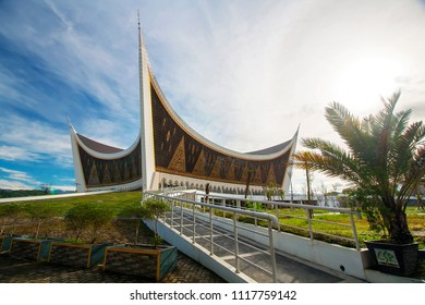 grand mosque of west sumatera
