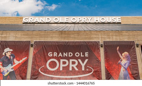 Grand Ole Opry in Nashville - NASHVILLE, TENNESSEE - JUNE 15, 2019