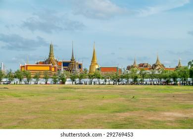 The Grand Palace . Bangkok Thailand , Wat phra kaew