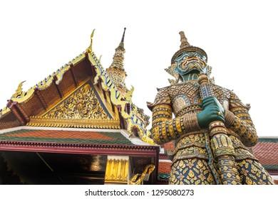 Grand Palace Bangkok, Wat Phra Keaw, Wat Phra Sri Rattana Satsadaram most important in Bangkok, Thailand, South East Asia,