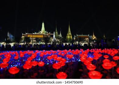 Grand Palace in Beautiful Night