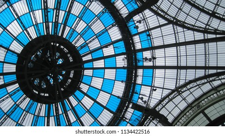 Grand Palais dome in Paris