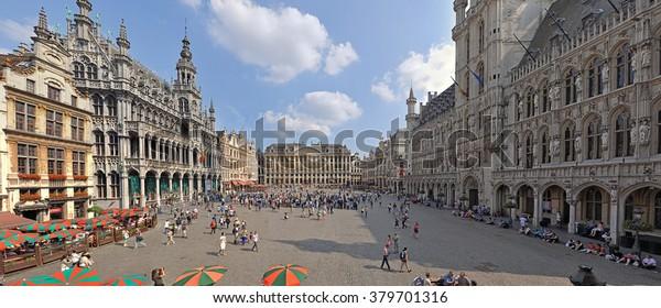 Großstadt von Brüssel