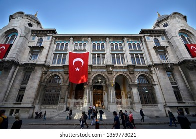 Grand Post Office,Sirkeci,Istanbul,Turkey,October 2014