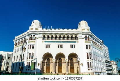 Grand Poste Office of Algiers, a French colonial building in Algeria