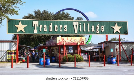 Grand Prairie,Texas- Sept 23,2017  Traders Village largest Flea Market in Texas. Open in 1973.