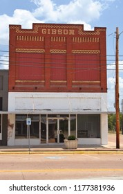 Grand Saline, TX - August 4, 2012: Historic Downtown Grand Saline named for large salt deposits near town.