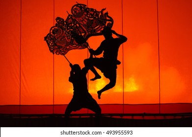 "Grand Shadow Play ""Nang Yai"" , or shadow play, a rich cultural heritage, is among the oldest forms of theatrical arts ever performed in Thailand."