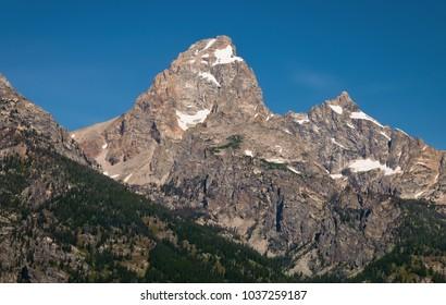 Grand Teton Mountain Peak