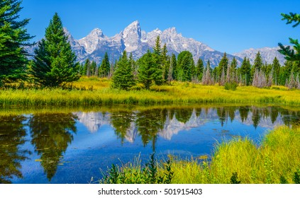 Grand Teton National Park is in northwestern Wyoming , USA.